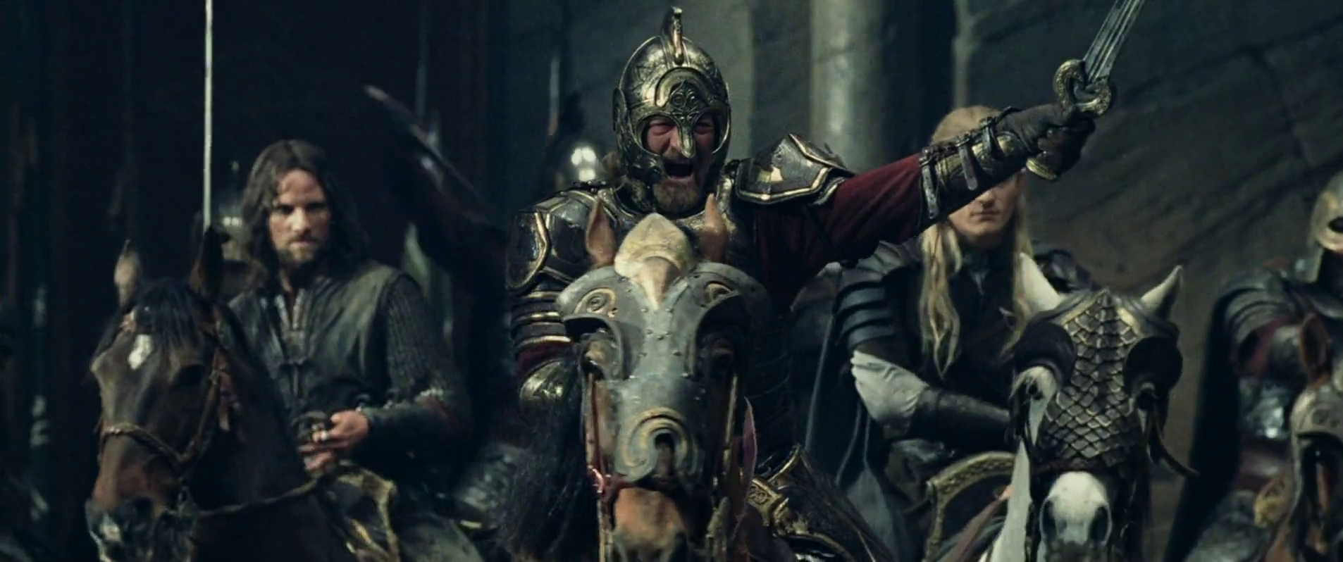 Lord Of The Rings Theoden Charge