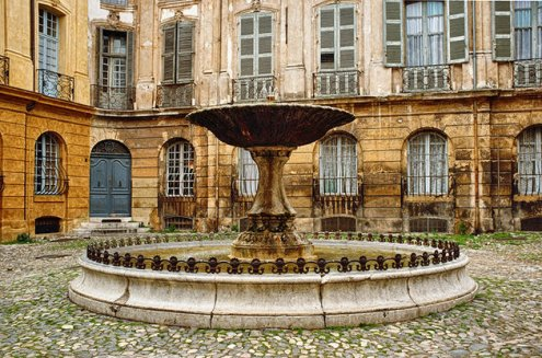 fountain 1 aix