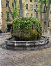 fountain cours mirabeaux aix